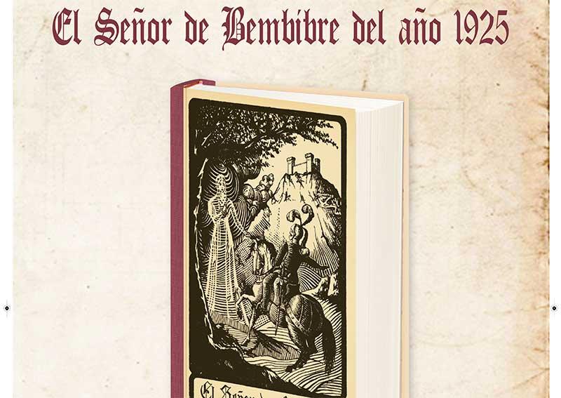 El Señor de Bembibre se presentará en edición facsímil