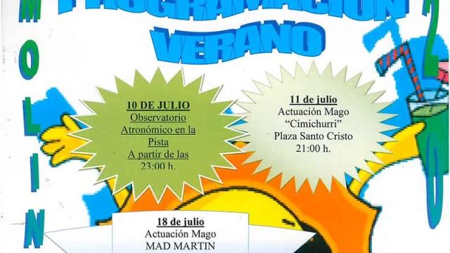 El 10 de julio arrancan la actividades de verano en Molinaseca