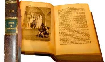 El Museo Alto Bierzo presenta un ejemplar de la primera edición de El Señor de Bembibre de 1844