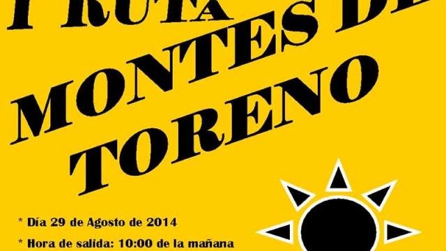 El Ayuntamiento de Toreno organiza la I Ruta de Montes