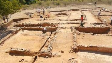 Las visitas al yacimiento de la Domus de Pedreiras se abrirán en dos meses