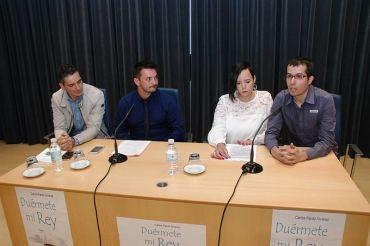 """Carlos Pardo presenta su primer libro """"Duérmete mi Rey"""""""