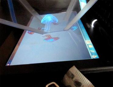 Música y hologramas en el Museo de la Energía