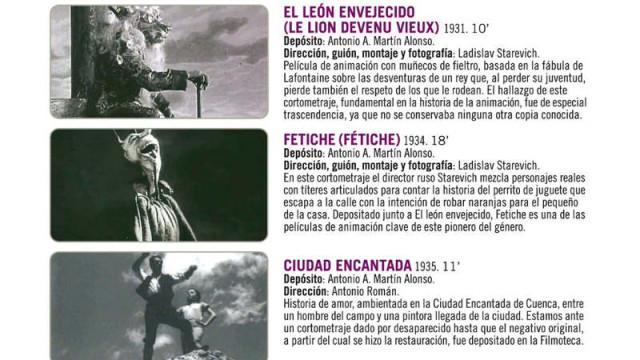 """""""Pantallas fijas. Imágenes recuperadas"""", tercer ciclo temático del Festival de Cine de Ponferrada"""