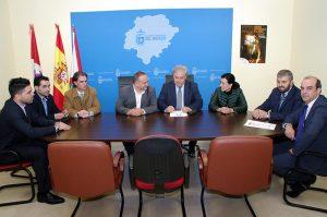 Reunión Bierzo Pyme y Consejo Comarcal. Foto: Raúl C
