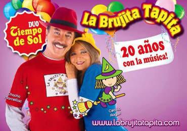 Vuelve al Bergidum el concierto familiar de La Brujita Tapita