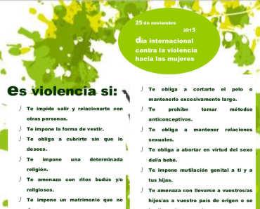El Área de Igualdad del Consejo Comarcal publica un cartel para identificar la violencia de género