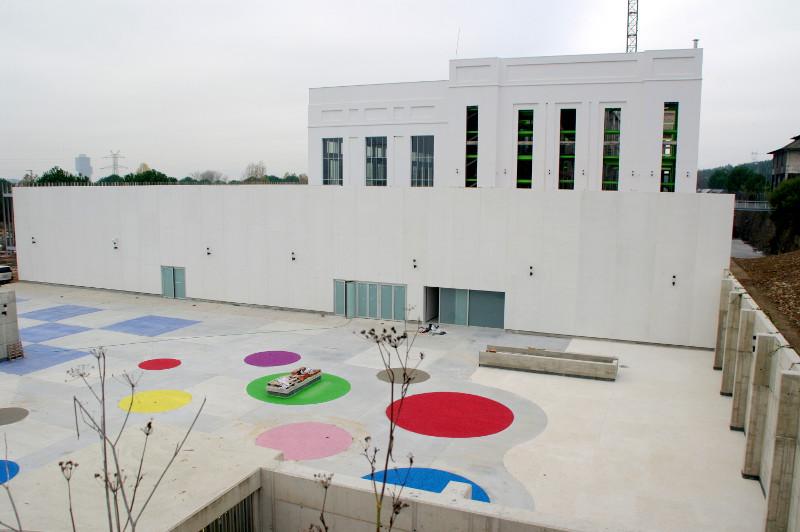 Obras en el Museo de la Energía de Ponferrada. Foto: Raúl C.