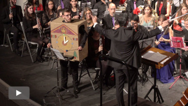 La Banda de Música celebra la Navidad y da la bienvenida a sus nuevos músicos con un concierto extraordinario