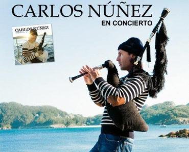 Concierto de Carlos Núñez en el Bergidum