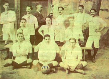 El Museo Alto Bierzo presenta una fotografía del Club Deportivo Bembibrense de 1917