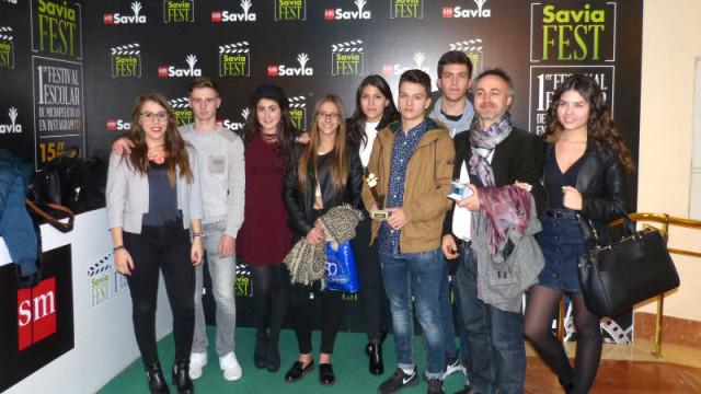 """El trabajo """"Estudiando Arte"""" del IES Europa gana el concurso de micropelículas SAVIAFEST"""