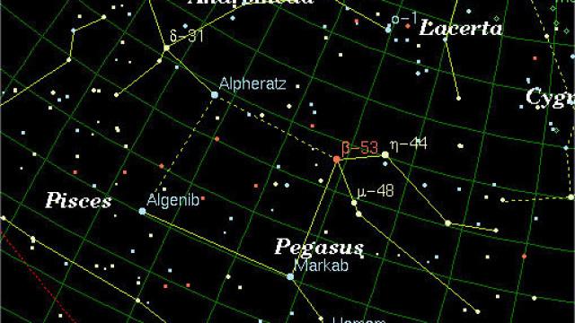 El berciano Jesús Valero descubre en Pegasus una estrella variable pulsante