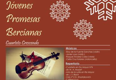"""El IEB y Cosmos presentan el I Concierto de Navidad """"Jóvenes promesas bercianas"""""""
