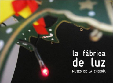 Taller de luces de Navidad en la Fábrica de Luz