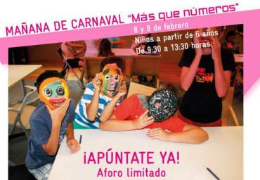 """Mañanas de Carnaval """"Más que números"""" en la Fábrica de Luz"""