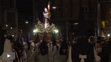 La cofradía del Silencio organiza la procesión del Miércoles Santo