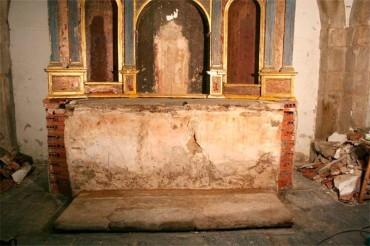 Patrimonio autoriza la restauración del banco del altar de la Iglesia de Santo Tomás de las Ollas