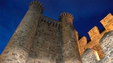 El Castillo de los Templarios registra en un sólo día 3.045 visitantes
