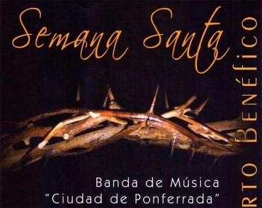 La Banda de Música presenta el concierto de Semana Santa a favor del comedor social San Genadio