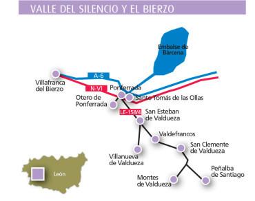 El programa de apertura de monumentos en Semana Santa en Castilla y León incluye una ruta por el Valle del Silencio