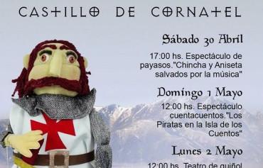 Fin de semana de espectáculo en el Castillo de Cornatel