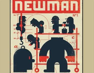 """Javier Cardo expone en la Casa de las Culturas """"Newman, nostalgia de futuro"""""""