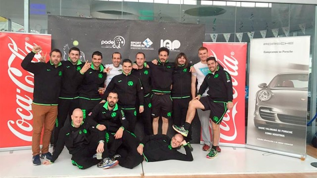 El equipo de pádel de Cubillos del Sil logra el ascenso a la segunda categoría de la Liga Autonómica