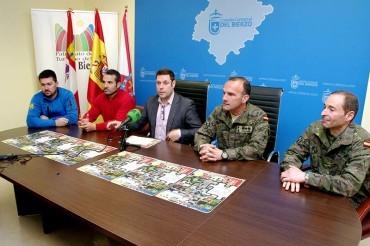 La unidad de Artillería y Lanzacohetes de Astorga participará y colaborará en la 101 Km Peregrinos