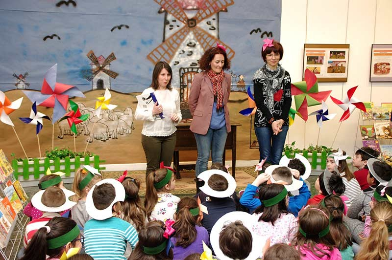 El XVII Salón del Libro Infantil conmemora el cuarto centenario de la muerte de Cervantes