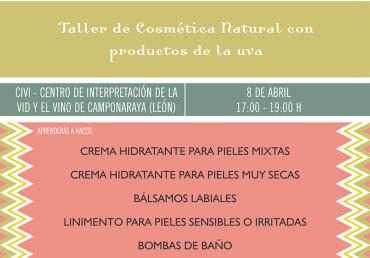 El CIVI organiza un taller de cosmética natural con productos de la uva