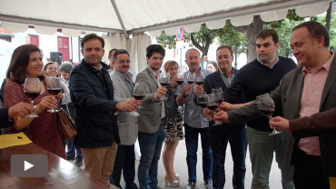 Cacabelos pide más implicación de las administraciones para apoyar eventos como la Feria del Vino del Bierzo