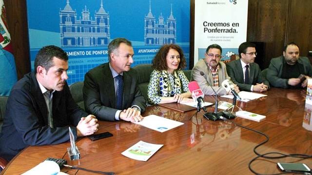 El Sabadell-Herrero realiza una campaña para dinamizar el consumo en el comercio local de Ponferrada
