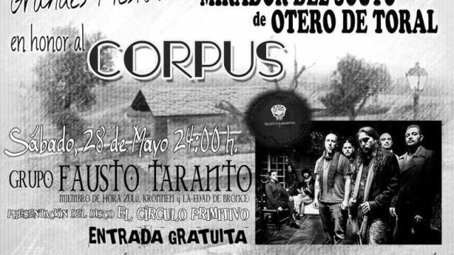 Concierto Fausto Taranto en el Mirador del Souto de Otero de Toral