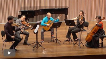 Los profesores del Cristóbal Halffter clausuran el curso académico con un concierto especial