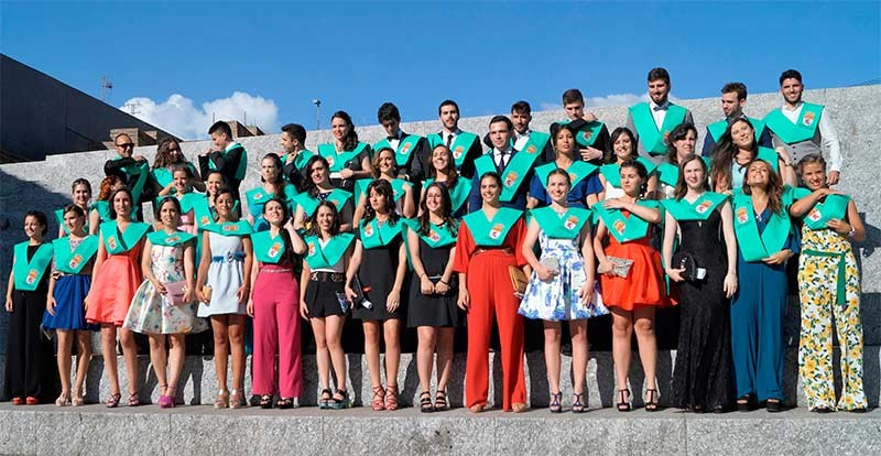 Graduada la tercera promoción de Fisioterapia del Campus de Ponferrada