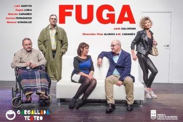 """La compañía Gargallada presenta la comedia """"Fuga"""" en el Benevivere"""
