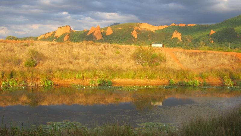 Las Médulas. Foto: Casa del Parque Las Médulas.