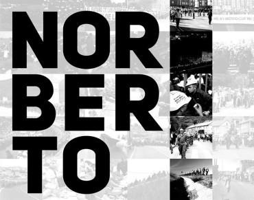 """""""Norberto en marcha"""", las marchas mineras a través del objetivo de Norberto Cabezas"""