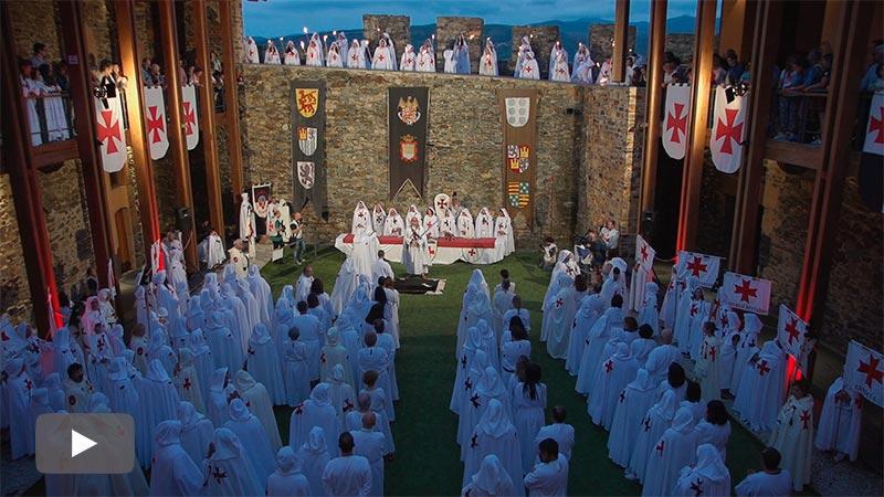 La orden de los Caballeros Templarios se amplía con la incorporación de 13 escuderos