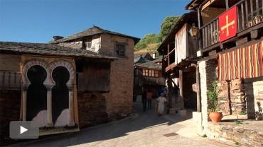 Los vecinos de Peñalba a la espera de que se mejore la carretera de acceso al pueblo