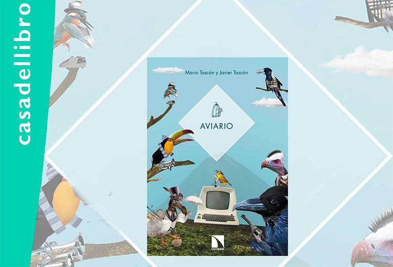 """Mario y Javier Tascón presentan en la Casa del Libro """"Aviario"""""""