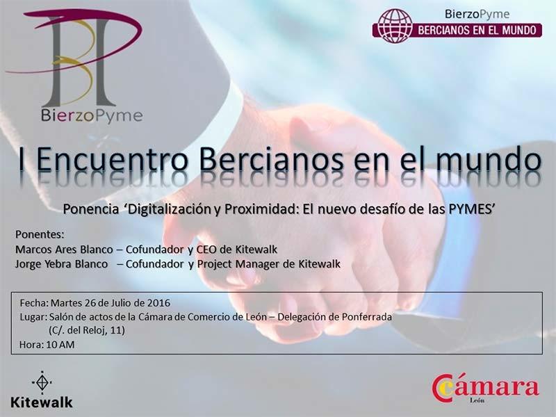 BierzoPyme organiza el I Encuentro Bercianos por el Mundo