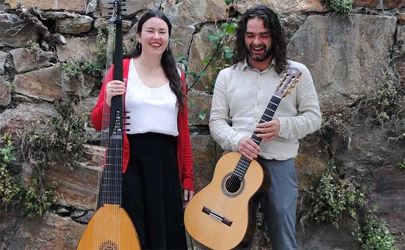 Carlos García y Mari Luz Martínez ofrecen en Corteza de Encina un concierto sobre Vivaldi