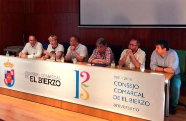 Los expresidentes del Consejo Comarcal debaten en Bembibre sobre el futuro de la institución