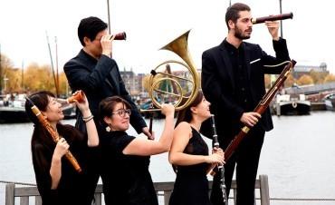 Concierto de la formación holandesa Exquisito Ensemble en Corteza de Encina