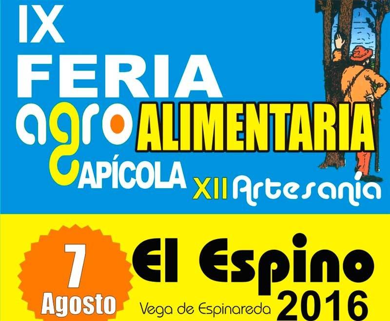 IX Feria Agroalimentaria del Espino celebrará una cata y un concurso de mieles