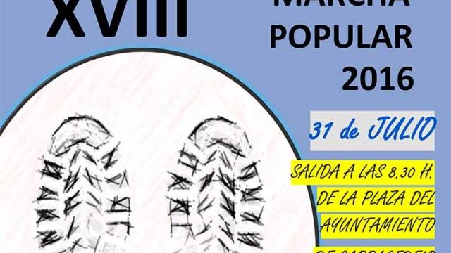 VIII Marcha Popular en Carracedelo