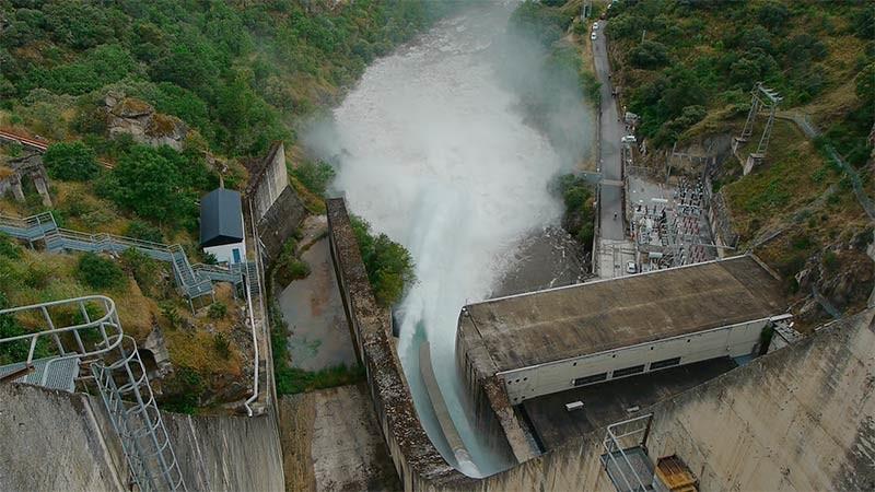La reserva hidráulica de la cuenca del Miño-Sil está al 83,4%