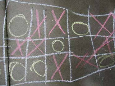 Tableros, juegos y números en La Fábrica de Luz. Museo de la Energía